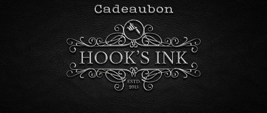 Cadeaubonnen van Hook's Ink