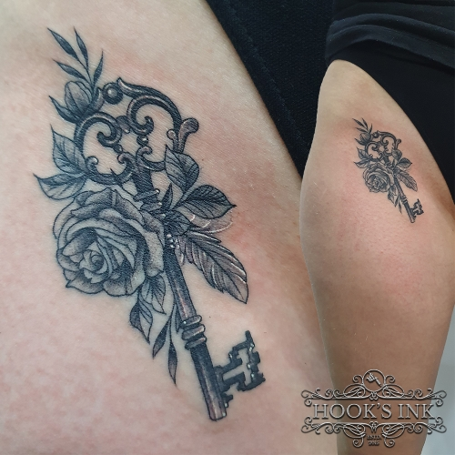 Gedetailleerde kleine tattoo door Maarten