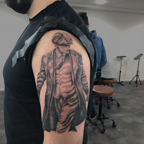 Tattoo van Thomas Shelby uit Peaky Blinders