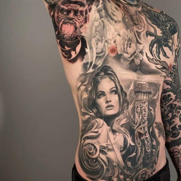 De allerbeste tatoeëerders ter wereld – Carlos Torres 1