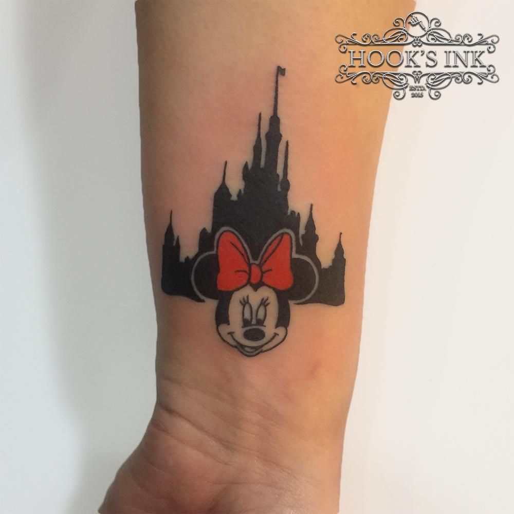 Disney tattoo Minnie Mouse