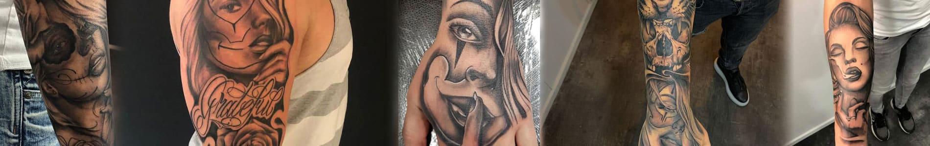 Chicano tattoo banner