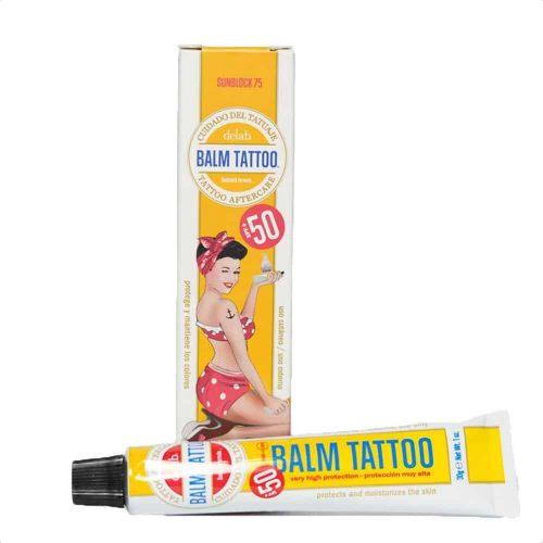 Balm tattoo sunblock75 aftercare spf50 tattoo nazorg