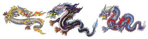 Betekenis van kleuren van Japanse draken voor je tattoo